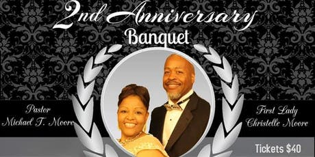 Pastor and First Lady Moore Pre-Anniversary Banquet tickets