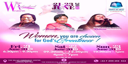 Wise and Refreshed Women's Seminar