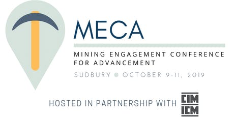 MECA – MINING ENGAGEMENT CONFERENCE FOR ADVANCEMENT tickets