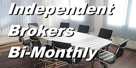 Independent Brokers Bi-Monthly meeting tickets
