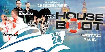 TAG24 pres. HOUSEBOOT zum Dresdner Stadtfest