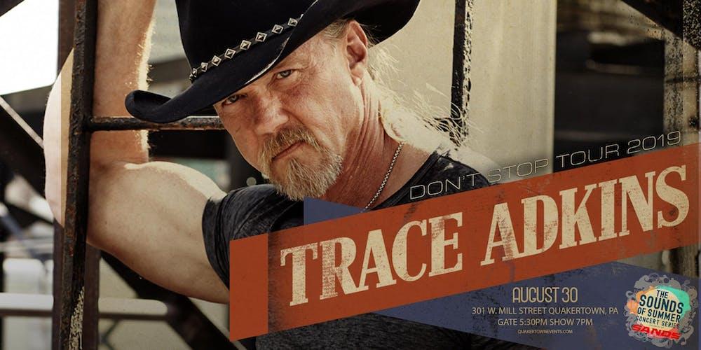 Trace Adkins-Don't Stop Tour-Sands Sounds of Summer Concert Series