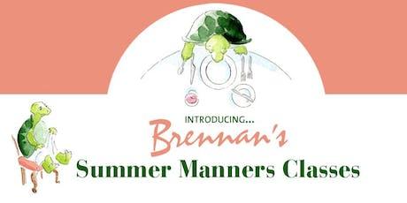 Brennan's Children's Summer Manners Classes tickets