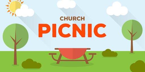 Church Community Picnic in the Park \ Picnic Comunitario de Iglesia en el Parque