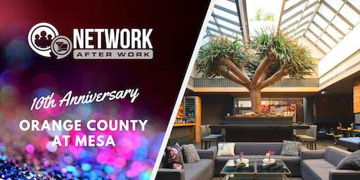 NAW Orange County 10 Year Anniversary at Mesa