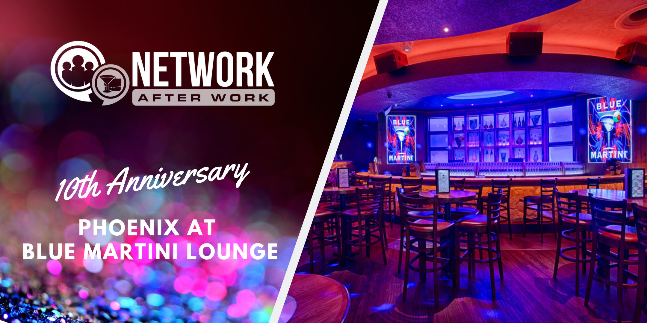 NAW Phoenix 10 Year Anniversary at Blue Martini Lounge