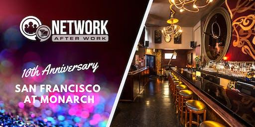 NAW San Francisco 10 Year Anniversary at Monarch
