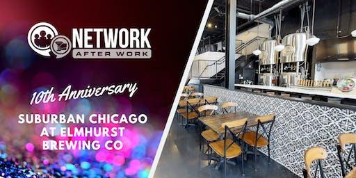 NAW Suburban Chicago 10 Year Anniversary at Elmhurst Brewing Co.