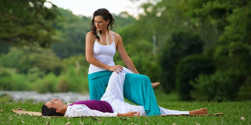 ~ Flow with Kind Touch ~  Partner Yoga and Thai Massage,  a restorative experience together