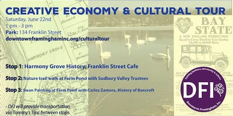 Creative Economy & Cultural Tour tickets