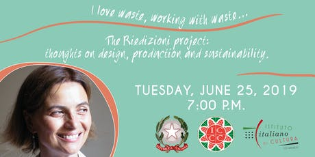 The Riedizioni project: thoughts on design, production and sustainability. tickets