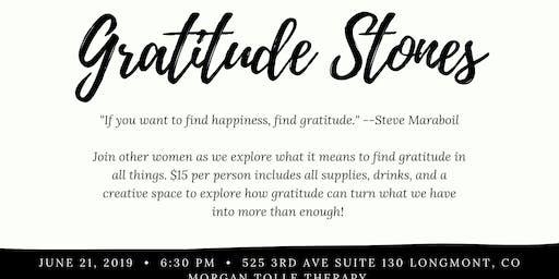 Gratitude Stones & Journal Night