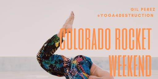 Colorado Rocket Yoga Weekend