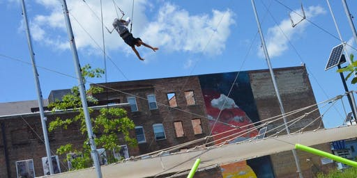 Learn to Fly: Newburgh Trapeze Workshops