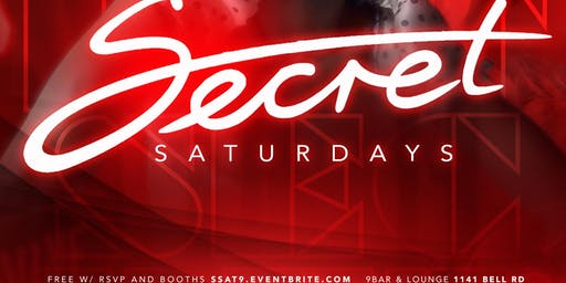 Secret Saturday's @ Lavo
