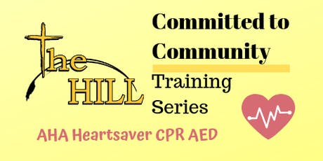AHA Heartsaver CPR AED Training tickets