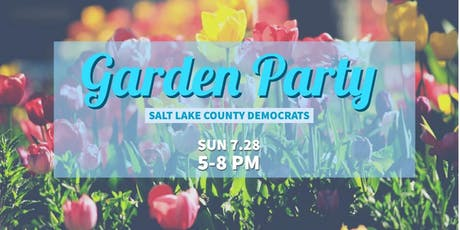 SLCo Dems: Garden Party 2019 tickets