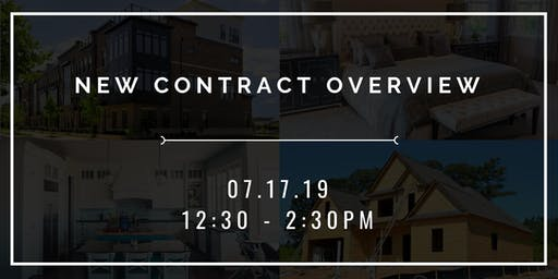 Contract Form Changes Review-All agents welcome
