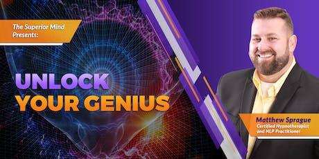 Unlock Your Genius tickets