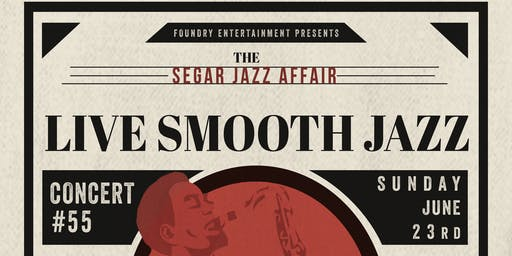 Segar Jazz Affair smooth jazz concert #55 with John Dunn & The Jazzman Band