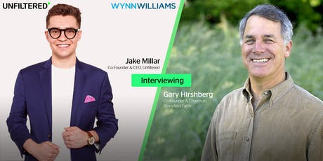 Live Interview with Gary Hirshberg (Co-Founder, Stonyfield Farm) tickets