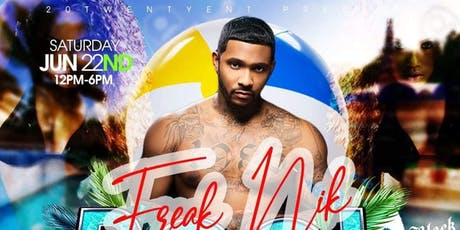 FreakNik Pool Party tickets