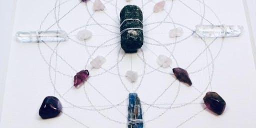 Create a Crystal Mandala