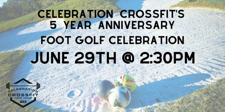 CCF's 5 Year Anniversary Foot Golf Celebration tickets