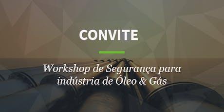 Workshop Cibersegurança para Óleo e Gás ingressos