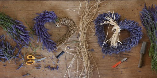Castle Farm Lavender Wreath Workshop