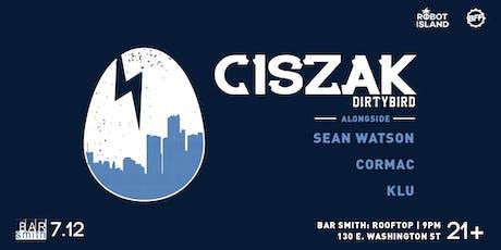 ROBOT ISLAND Presents: Ciszak at BFF tickets