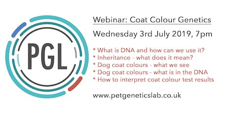 Canine coat colour genetics: an introduction tickets