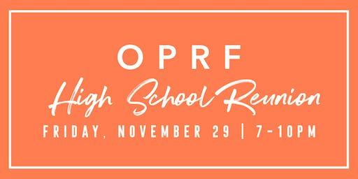 OPRF High School Reunion