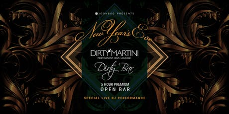 Lindypromo.com Presents Dirty Bar & Dirty Martini New Year Eve Party 2020 tickets