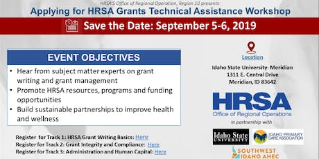 Idaho Grant Technical Assistance Workshop: Track 2 - Grant Integrity and Compliance  tickets