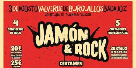 Certamen Jamón & Rock entradas