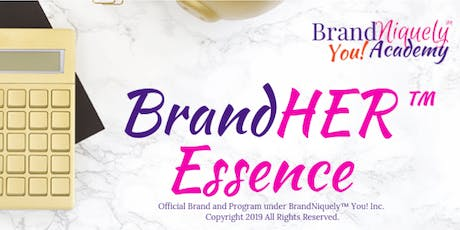 BrandHER™ Essence Masterclass  tickets