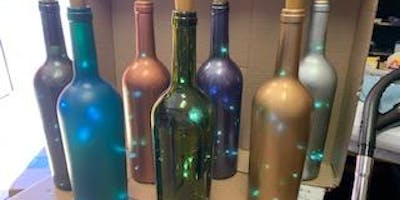 ***** DIY: Wine Bottle Crafts with the Cricut