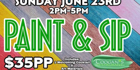Paint and sip..and sip and paint! tickets