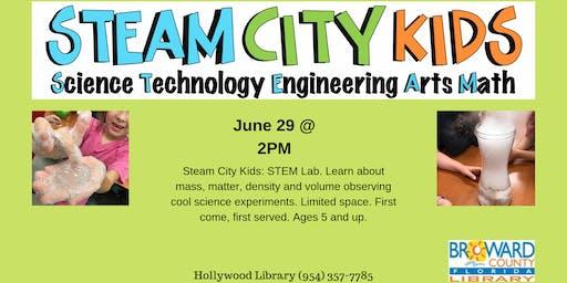 STEAM City Kids: STEAM Lab