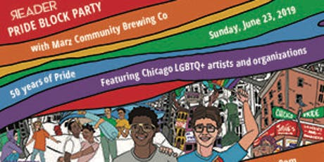 Chicago Reader Pride Block Party tickets