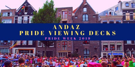 Andaz Pride Decks - Bubbles, Bites & the Best View tickets