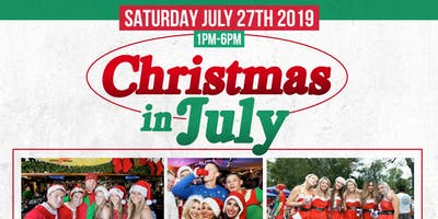 Christmas in July Bar Crawl!