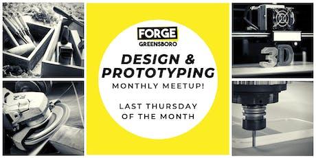 Design & Prototyping Meetup tickets
