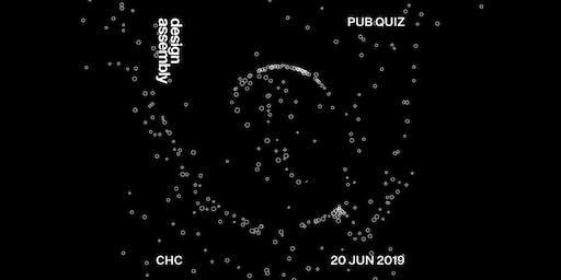 8th Annual Design Assembly Pub Quiz — Christchurch 2019