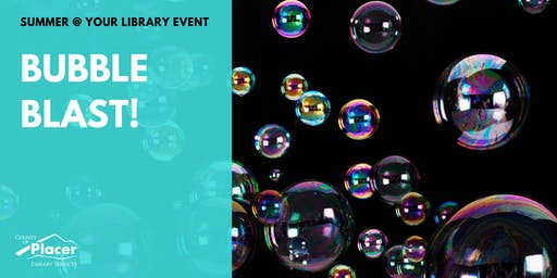Bubble Blast! at Applegate Library