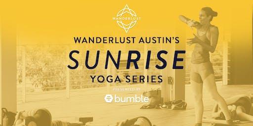Wanderlust Austin's SUNRISE Yoga Series
