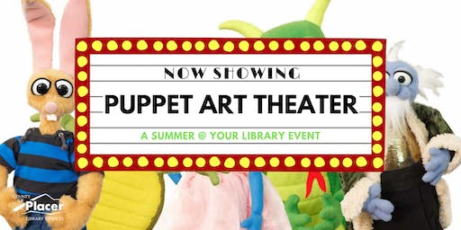 Puppet Art Theater hosted by Colfax Library