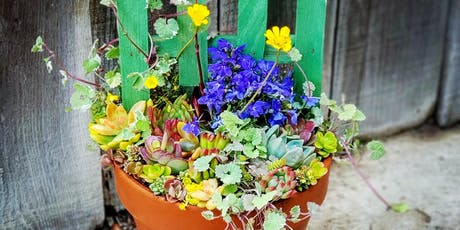 Summer Trellis Planter At Iron Oak Canyon Ranch tickets