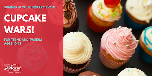 Cupcake Wars at Granite Bay Library